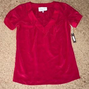 Rory Beca Pink V-Neck Short Sleeve